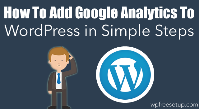 Agregar Google Analytics a WordPress