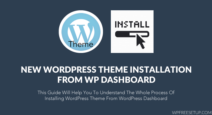 Cómo instalar WordPress Theme