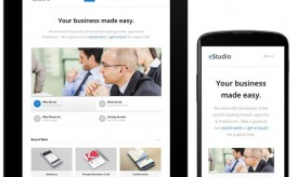 Descargar eStudio: un tema de WordPress Business Blog sensible