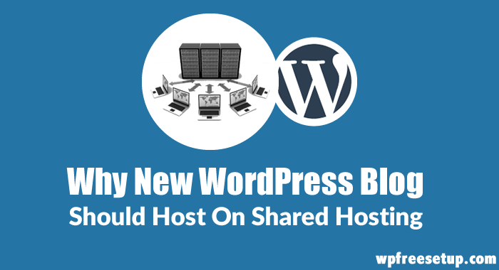 WordPress Blog On Shared Hosting